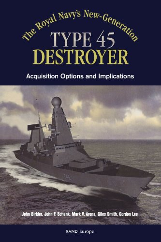 The Royals Navy's New Generation Type 45 Destroyer Acquisition Options and Implications -