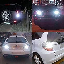 Katur BAU15S estremamente luminoso 2760LM bianco 75071156PY P21W LED Lampadina di ricambio ad alta potenza 24W 12SMD 3020chipset RV camper SUV Monovolume auto di segnalazione lampadine coda freno luce di retromarcia (confezione da 2)