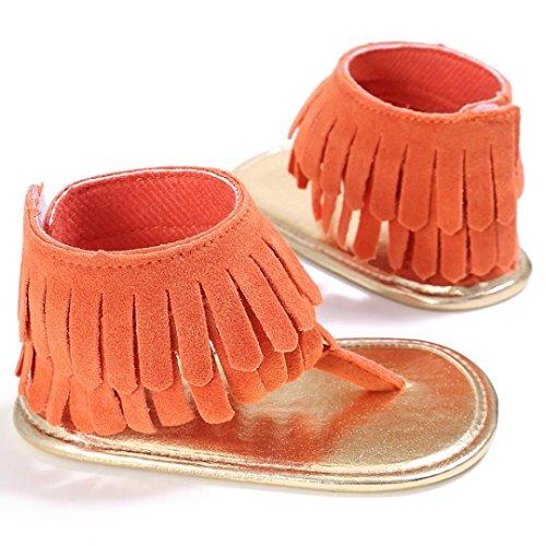 锟� Shoes Rutsch Neugeborene Blume Anti Loveso Orange Baby Sandalen Kleinkind 2017 锟� Baby Schuhe vISvw