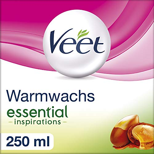 Veet Warmwachs essential inspirations, 1er Pack (1 x 250 ml)