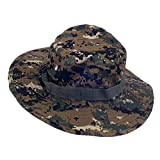 #9: Imported Mens Camo Military Boonie Cap Sun Bucket Brim Army Fishing Hiking Hat #4