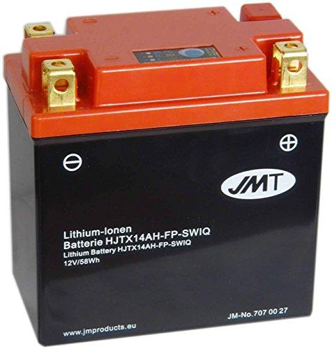 Batterie Lithium Polaris Sportsman 500 Forest HO 2011-2013 JMT HJTX14AH-FP 12V