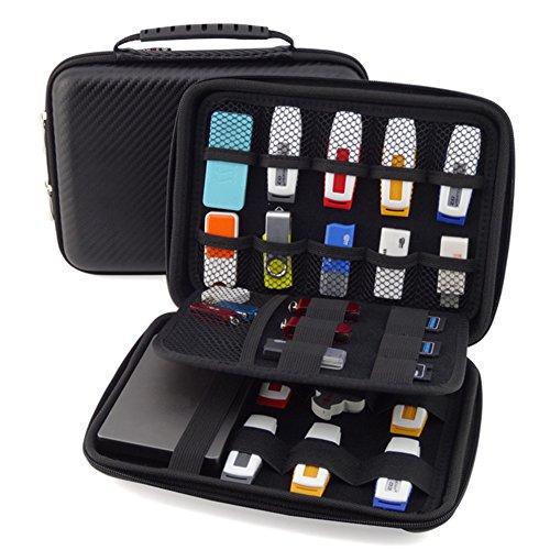 Homeself Organizador carcasa rígida accesorios electrónica-Funda