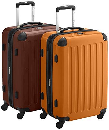 Hauptstadtkoffer , Valigia Unisex, Orange-Braun (Multicolore) - 58944004