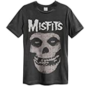Amplified Misfits 'Skull' T-Shirt Clothing
