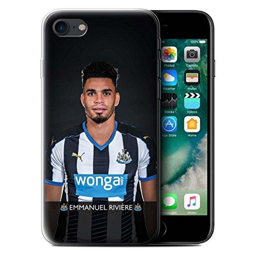 Officiel Newcastle United FC Coque / Etui Gel TPU pour Apple iPhone 7 / Wijnaldum Design / NUFC Joueur Football 15/16 Collection Rivière