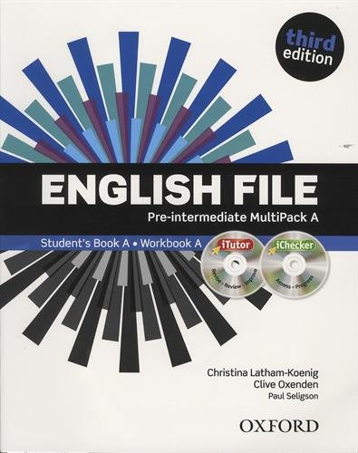 English File third edition: English file digital. Pre-intermediate. Part A. Student's book-Workbook. With keys. Per le Scuole superiori. Con espansione online