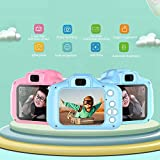 Kids Camera, Vuffuw 8MP HD Video Digital Children Camera, Mini 2 Inch Screen Sports Camera Recorder Camcorder with Soft Cover, Best Gift for Boys Girls