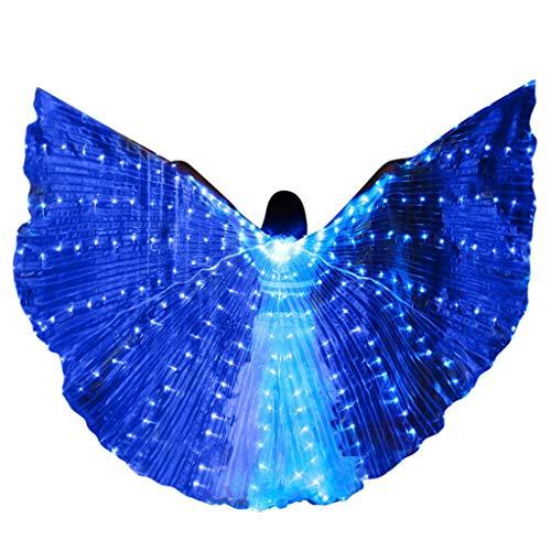 Adler Karneval Kostüm - Chejarity Isis Flügel Bauchtanz LED
