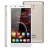 SIM-Free Unlocked 4G Smartphone, 6� OUKITEL U16 Max Android 7.0 MT6753 Octa-Core 3G RAM + 32G ROM Dual SIM Card Mobile Phone with Dual Camera(13.0MP+5.0MP) Fingerprint GPS WIFI HotKnot Cellphone (Gold)