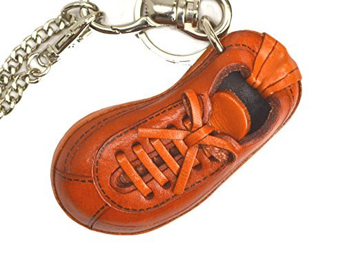 0ce3a76a02b Sneaker in vera pelle bag charm Keychain   Vanca   fatto a mano in Giappone