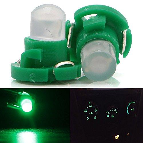 Grandview 10pcs Verde T4.2 COB 1 LED SMD para salpicadero instrumento Cluster luz Coche Luz Bombilla luz lateral indicador Panel de luz interior bombilla luz 12 V