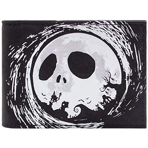 Nightmare Before Christmas Jack Halloween Silhouette Schwarz Portemonnaie