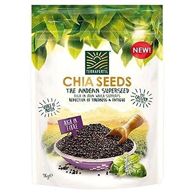 Terrafertil Chia Seeds 1kg