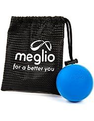 Meglio Lacrosse–Pelota de masaje para auto Targeting liberación miofascial–Tejido de alcance profundo con masaje de punto de gatillo–excelente herramienta uso con Crossfit y Yoga entrenamientos
