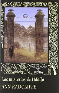 Los misterios de Udolfo par Ann Radcliffe