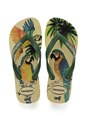 Havaianas Stampe Infradito Uomo/Donna Ipe Beige