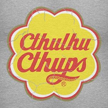 TEXLAB - Cthulhu Cthups - Damen T-Shirt Grau Meliert
