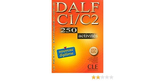 C2 250 DALF C1 ACTIVITÉS TÉLÉCHARGER