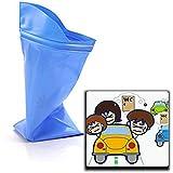 8X Emergency Traffic Jam Saviour Adult Disposable Travel Urine Bag Collection Pee Bag Car Toilet