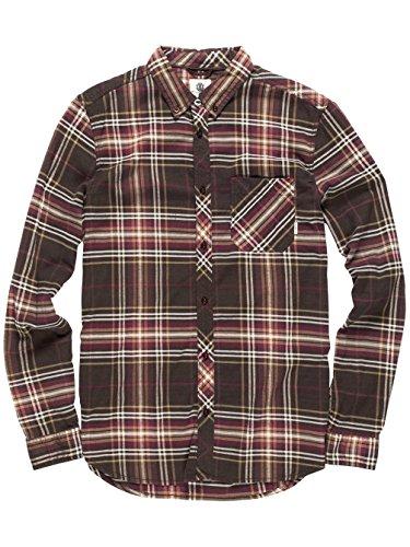 Element -  Camicia Casual  - Uomo Brown Bear