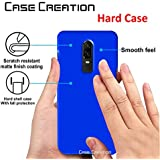 OnePlus 6 Back Cover, Case Creation TM Hard Back Case Cover For OnePlus 6/One Plus 6/1 + 6/OnePlus6 2018 - The Speed You Need (New Launch 2018)- Dark Royal Blue