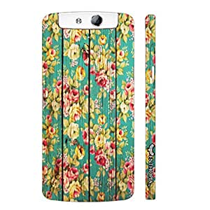 Oppo N1 Guldasta! designer mobile hard shell case by Enthopia