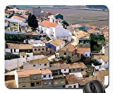 town of odeceixe in portugal Mouse Pad, Mousepad (Houses Mouse Pad)