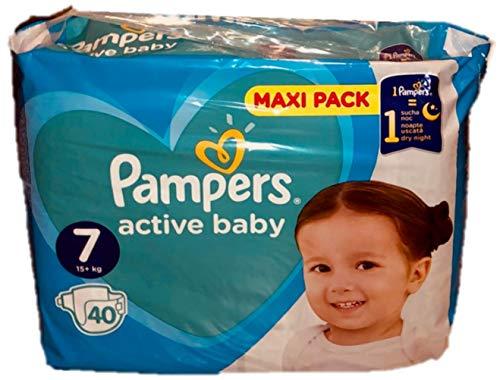 40 Pampers Windeln ACTIVE BABY Gr. 7, 15+ Kg