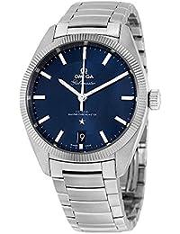 Reloj Omega Constellation para hombres con caja de acero de 39mm y mecanismo automático, 130.30.39.21.03.001