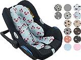Riduttore universale per il trasporto di bambino maxicosi, culla, seggiolino auto, passeggino by Janabebe ® (Crabby)