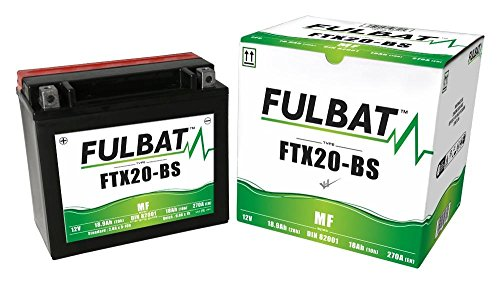 Harley Davidson FXRS-CON 1340 Low Rider Convertible 1989-1993, FTX20-BS, DIN82001, Wartungsfreie AGM, MF Fulbat Batterie