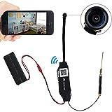 TEKMAGIC® HD 1920X1080P Mini P2P Wifi IP Cámara Espía DV Videocámara Grabadora de Vídeo con 140 ° Vista Soporte iPhone Android APP Vista Remota