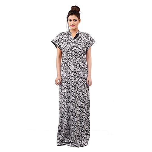 6384616e4e Farry Comfortable Sleepwear for Women - Cotton Hosiery Gown Nighty for  Ladies With Extra Separate
