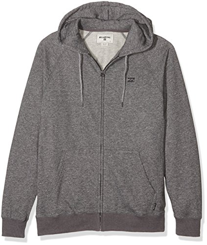 G.S.M. Europe - Billabong Herren Balance Zip Hood Kapuzenjacke black heather