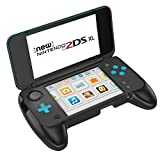 #10: Fly USA MoKo Handle Grip for Nintendo NEW 2DS XL, Anti-slip Protective Grip with Stand for Nintendo New 2DS XL/LL (2017) - Black