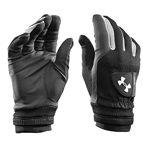 Under Armour Coldgear Gants de golf Enfant Black/Black/Steel...