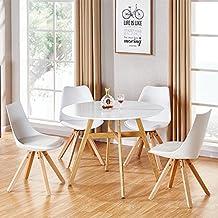 designetsamaison table manger ronde scandinave en bois 100cm umbria