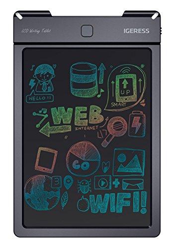 IGERESS Tablet da Lettura 9 Pollici con Display LCD colorato per Bambini Che scrivono e disegnano Una Lavagna Elettronica Invece di Carta ...