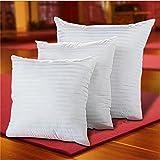 M&F MF Coussin Doux en Coton PP Blanc, 35/40/45/50/55/60cm, 35x35cm