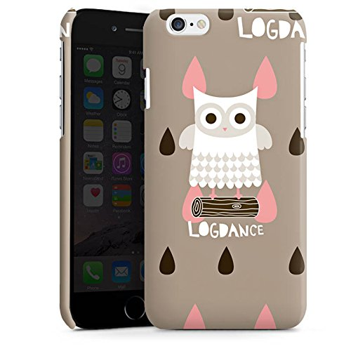 Apple iPhone 5s Housse Étui Protection Coque Hibou Hibou Bois Cas Premium brillant
