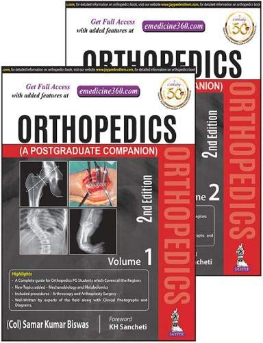 Orthopedics (A Postgraduate Companion) 2 Volumes