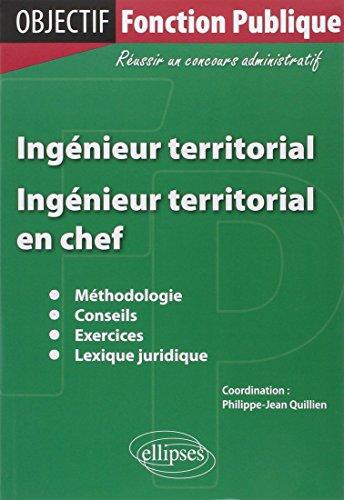 Ingénieur territorial ingénieur en chef territorial