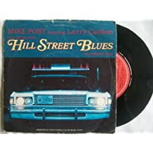 "MIKE POST ft LARRY CARLTON Theme From Hill Street Blues 7"" 45"