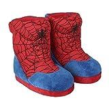 Cerdá Zapatillas De Casa Bota Spiderman, Niños, Rojo (Rojo C06), 31/32 EU
