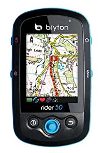 Bryton Rider 50E With OS Mapping -