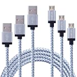 [3 CABLES] SENDIS Cable Micro USB (1m...