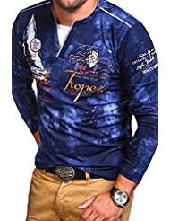MT Styles 2in1 manches longues P-SAINT homme R-0857