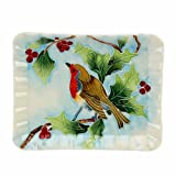 Old Tupton Ware British birds rectangular Plate