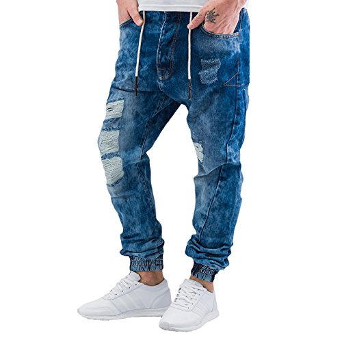 Just Rhyse Homme Jeans / Antifit Lucca Bleu